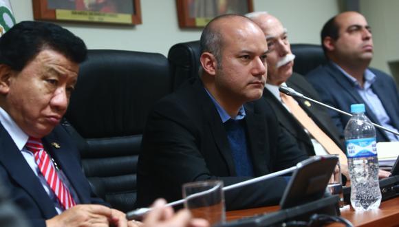 Grupo de Sergio Tejada entregó su informe sobre los 'narcoindultos'. Ahora el Pleno decidirá. (Rafael Cornejo)