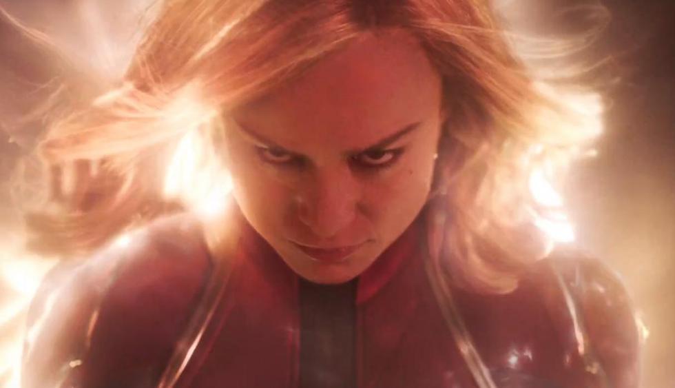 Brie Larson interpreta a la Capitana Marvel en el primer tráiler de la cinta. (Foto: Captura de YouTube)