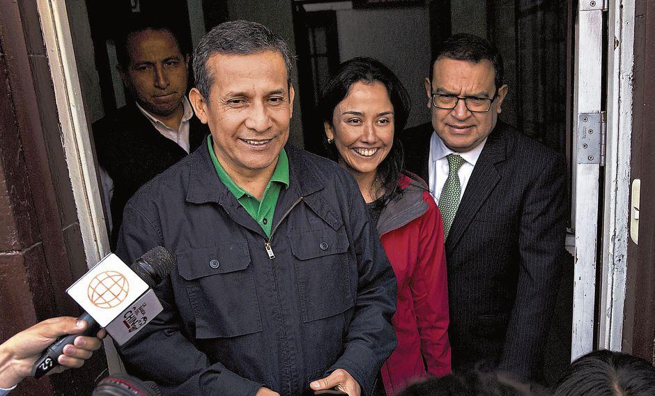 Ollanta Humala y Nadien Heredia