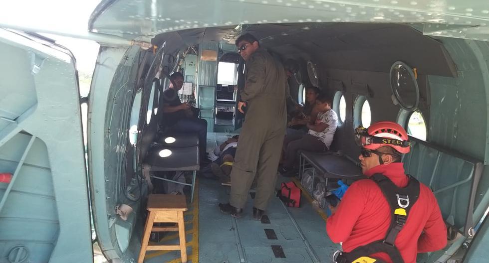 Avioneta con cuatro personas realizó un aterrizaje forzoso tras fallo del tren de aterrizaje en Ucayali. (PNP)