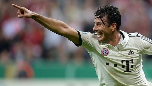 Claudio Pizarro es el máximo goleador extranjero en la Bundesliga. (AFP)