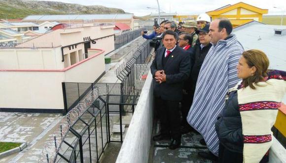 Penal de Cochamarca albergará a más de 1200 presos. (USI)