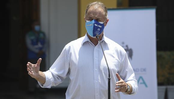 Jorge Muñoz no se mostró a favor de que las rondas sean incluidas en el sistema de seguridad ciudadana. (Foto: Archivo GEC)