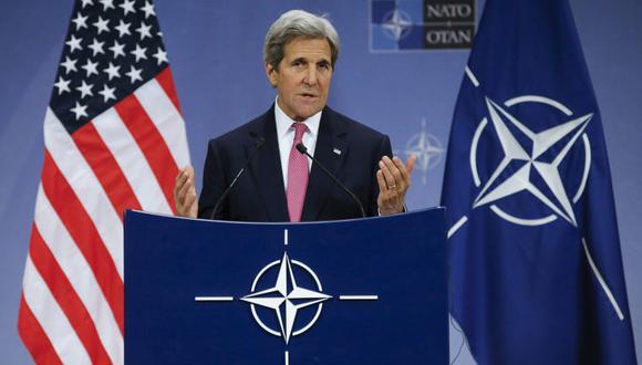 """""""Regreso al gobierno para volver a llevar a Estados unidos por buen camino ante el mayor desafío que enfrenta esta generación y las que le seguirán"""", dijo Kerry en Twitter. (Foto: EFE)"""