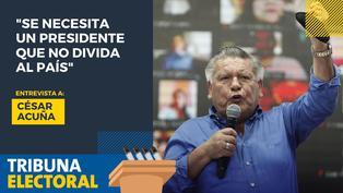 César Acuña candidato presidencial de Alianza para el Progreso