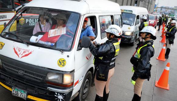 Es importante saber si tienes papeletas de tránsito o si tienes sanciones por cometer alguna infracción. (Foto: Andina)