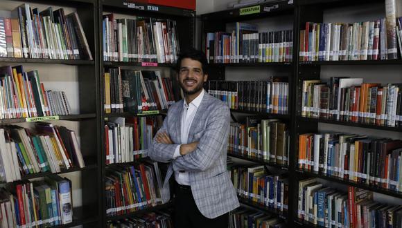 Conversamos con el actual jefe institucional de la Biblioteca Nacional del Perú. (Perú21/ Piko Tamashiro)