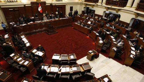 CONGRESO. Acuerdo de la comisión deberá ratificarse en el Pleno. (Luis Gonzáles)