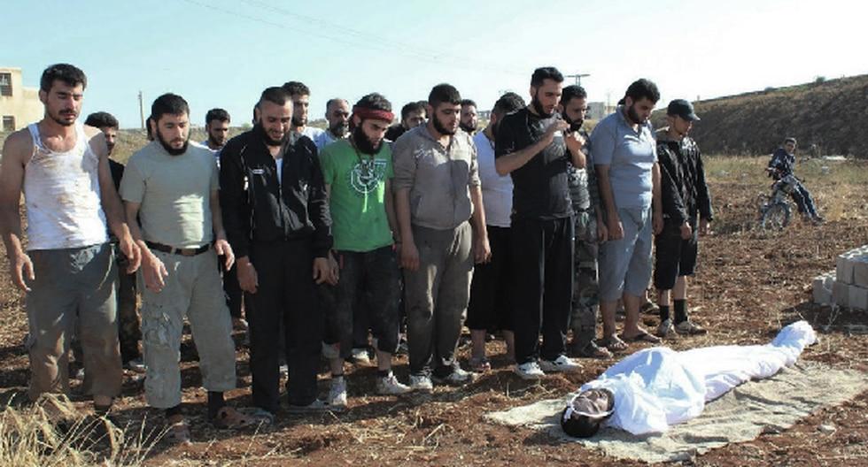 Gobierno sirio negó masacre en Tremseh. (AP)