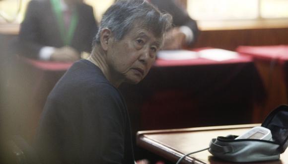 Fujimori insiste en salir de la Diroes tras negativa de indulto humanitario. (Mario Zapata)