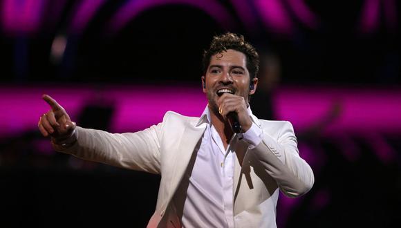 El cantante español David Bisbal afirmó que están esperando a su segundo hijo en conjunto con Rosanna Zanetti. (AFP).