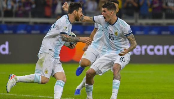 Argentina vs. Qatar: chocan por el grupo B de la Copa América 2019. (Foto: AFP)