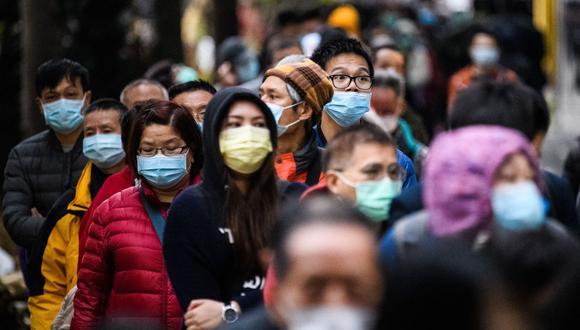 Crecimiento mundial 2020 - Coronavirus. (AFP).