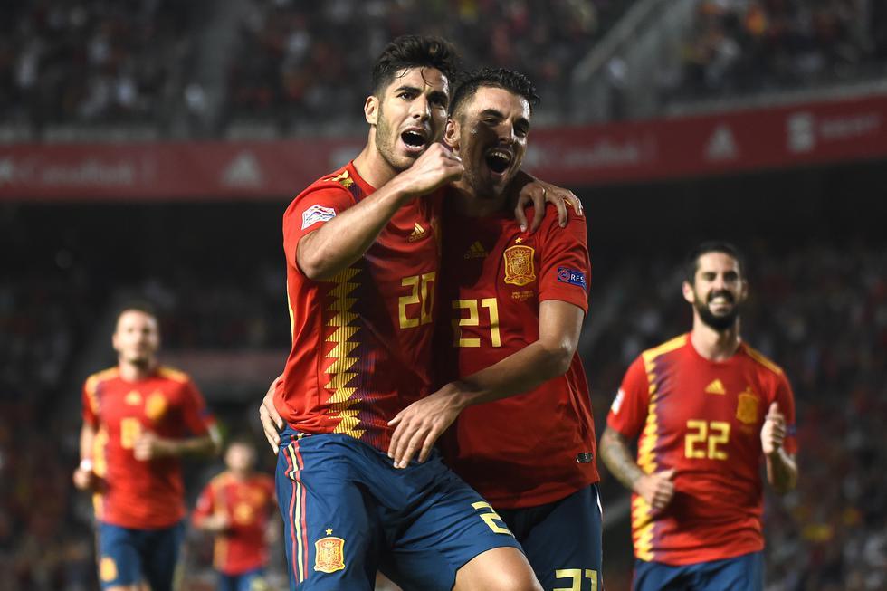 La Furia ganó 6-0 en Elche por la UEFA Nations League. (AFP)