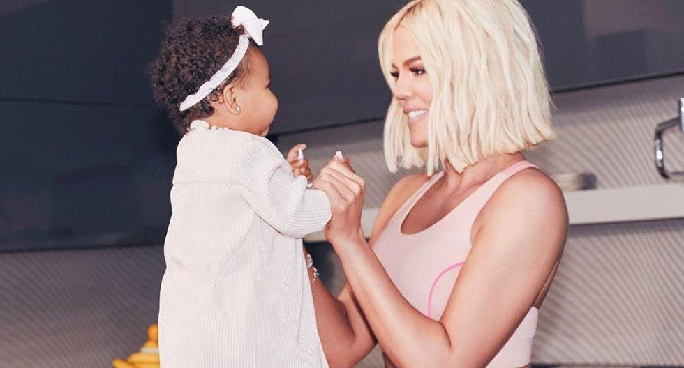 Khloé Kardashian reveló el motivo por el que llamó True a su bebé con Tristan Thompson. (Foto: @khloekardashian)