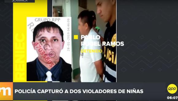 Los sujetos fueron detenidos el último fin de semana  por la Policía en Jicamarca. (RPP Televisión)