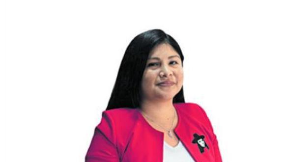 Grace Baquerizo aspira al Congreso con Juntos por el Perú.