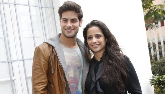 Andrés Wiese y Melania Urbina confirmaron el fin de su relación amorosa. (Luis Gonzales)