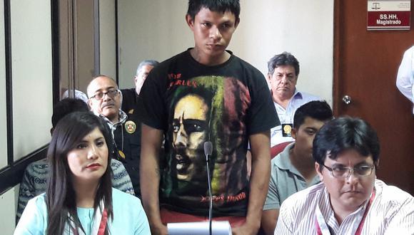 Cristhian Palomino Otero fue condenado.