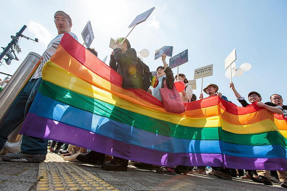 Reclamaron la legalización del matrimonio entre personas del mismo sexo. (EFE)