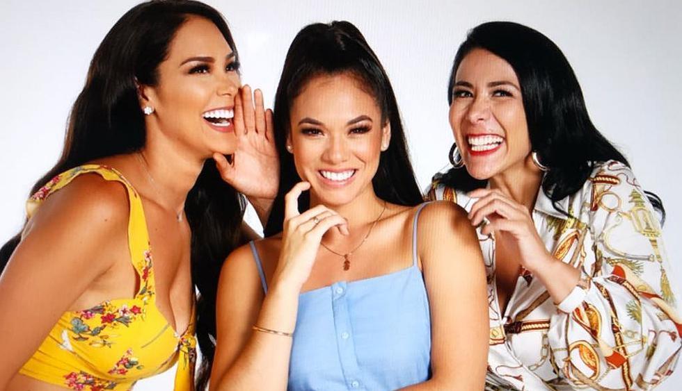 """Karen Schwarz, Jazmín Pinedo y Magdyel Ugaz conformarán el equipo de conducción de """"Mujeres al mando"""". (Foto: @karenschwarz)"""