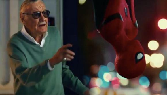 'Spider Man': Stan Lee aparece en el nuevo spot de la película (Marvel)
