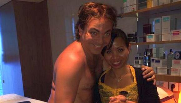 Cristian Castro repetirá su famoso desnudo en comercial. (Twitter)