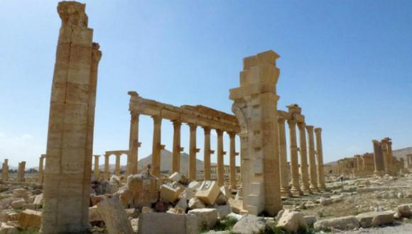 Palmira es reconocido por sus ruinas grecorromanas.  (AFP)