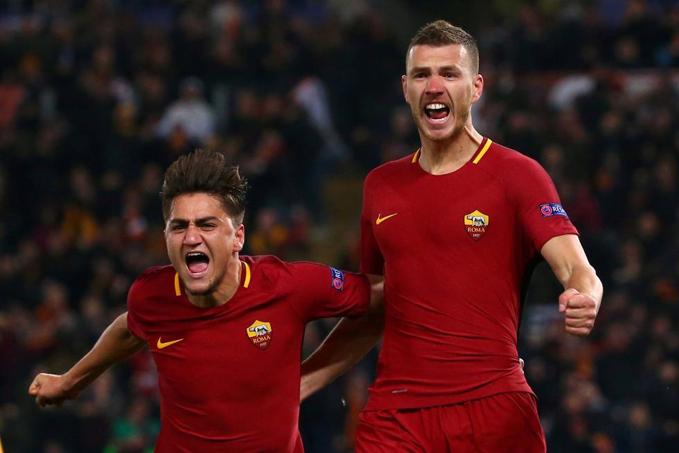 Roma sentencia su clasificación gracias al gol que registró como visitante en el duelo de ida frente a Shakhtar. (REUTERS)