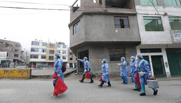 Refuerzan cerco epidemiológico en Ate para contener variante Delta Plus. Foto: Jorge Cerdan/@photo.gec