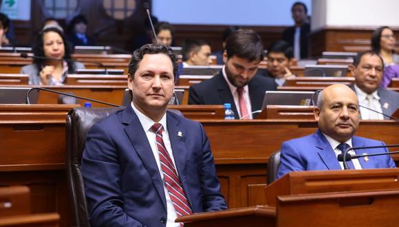 Daniel Salaverry señaló que declaró sobre encargo de Fuerza Popular al Ministerio Público. (Foto: Congreso)