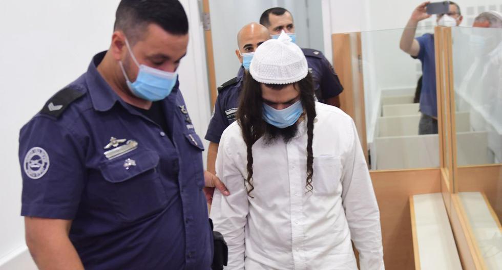 El israelí Amiram Ben Uliel fue hallado culpable de intento de homicidio, incendio criminal y conspiración para cometer un crimen racista. (EFE/EPA/Avshalom Sassoni)