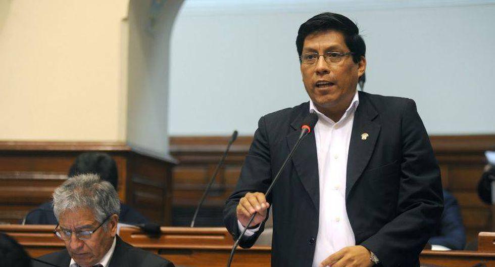 Vicente Zeballos indicó que mañana jurará el nuevo gabinete ministerial. (Foto: GEC)