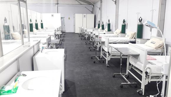 Cajamarca: cuatro hospitales temporales han sido gestionados por el Gobierno Regional (Foto referencial).