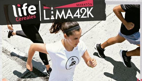 """Este domingo 19 de mayo se llevará a cabo la """"Maratón Life Lima 42k"""", desde las 7:00 a.m. hasta las 3:00 p.m. (Foto: Lima42K)"""