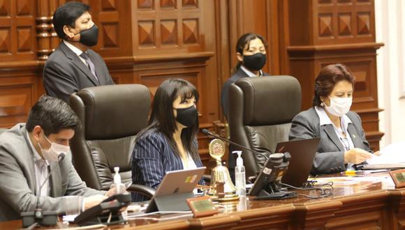 La Junta de Portavoces evaluará pedidos de congresistas para citar ministros, informó Mirtha Vásquez. (Foto: Congreso)