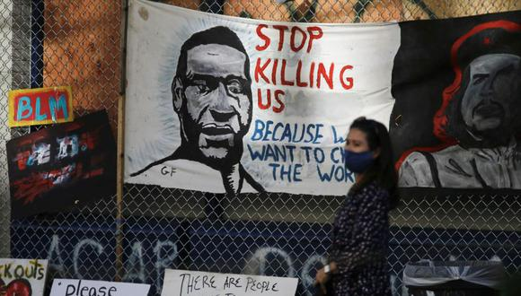 Hoy se cumple un mes del asesinato de George Floyd, un afroamericano víctima de la violencia policial en Minneapolis convertido en símbolo de una lucha que ha trascendido las fronteras estadounidenses. (Foto: REUTERS/Lindsey Wasson)