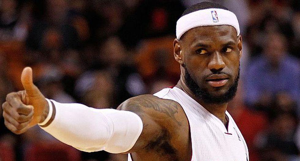 LeBron ha ganado cuatro premios MVP en la NBA y dos títulos con los Heat. (USA Today Sports)
