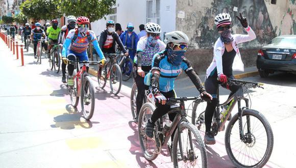 El MTC fomenta el uso de la bicicleta para evitar los contagios de COVID-19 en el transporte público. (Foto: MTC)