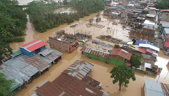 por las intensas precipitaciones pluviales registradas en las últimas horas (Foto: COER Madre de Dios)