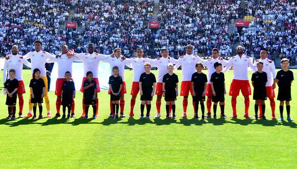 Perú vs. Nueva Zelanda: La blanquirroja se encuentra entre las mejores selecciones invictas .(AFP)