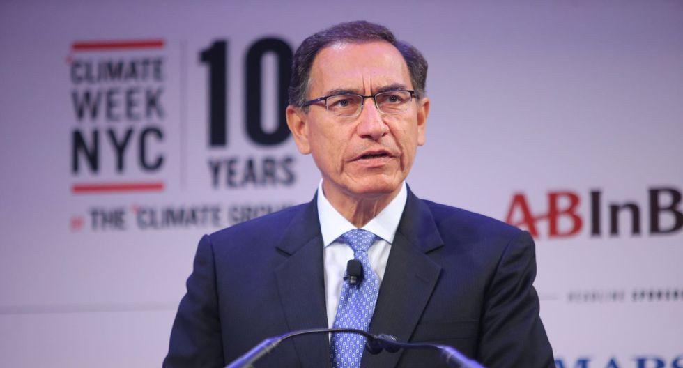 En el primer CADE Ejecutivos de Martín Vizcarra como presidente, siete de cada 10 empresarios respaldan la gestión del mandatario.(Foto: GEC)