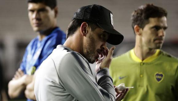 Pablo Pérez lamentó así los hechos de violencia en el marco del River Plate vs. Boca Juniors. (Foto: AFP)