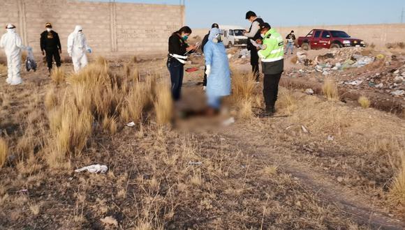 Puno: Hallan cuerpo descuartizado y calcinado de una mujer en medio de un basural en la ciudad de Juliaca.