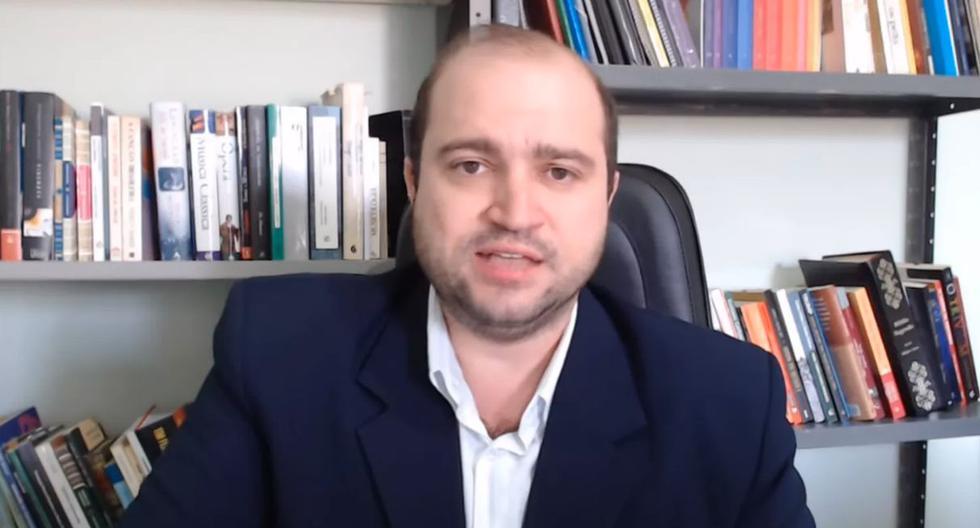 """Mantovani cuenta con un canal de YouTube con más de 7.000 suscriptores en el que habla sobre música, teorías conspirativas y """"guerra cultural"""". (Foto: Captura de video)"""