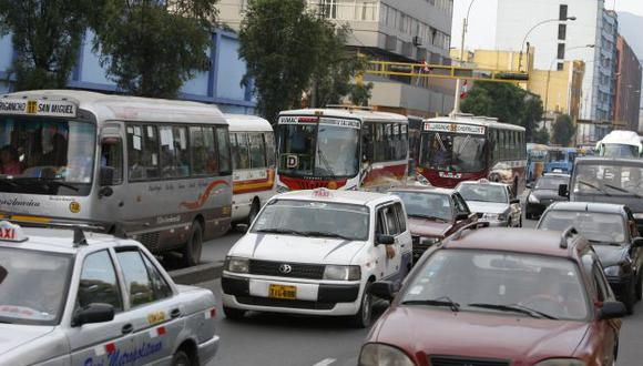 Aún está en marcha la Reforma del transporte en el corredor de la avenida Tacna. (Luis Gonzáles)
