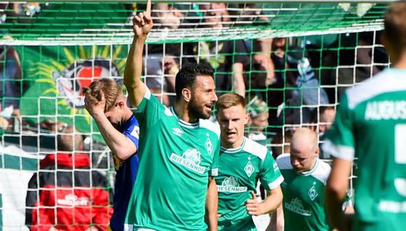 Werder Bremen vs. Colonia: chocan por la jornada 34 de la Bundesliga. (Foto: AFP)