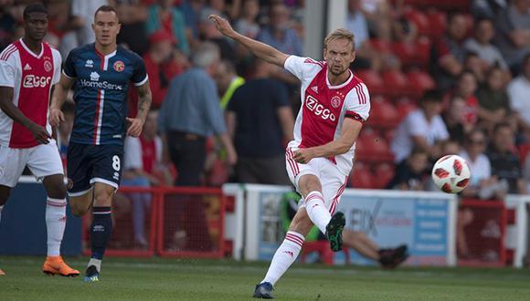 Ajax de Holanda inicia su participación en la segunda fase de la Champions League 2018-2019. (Reuters)