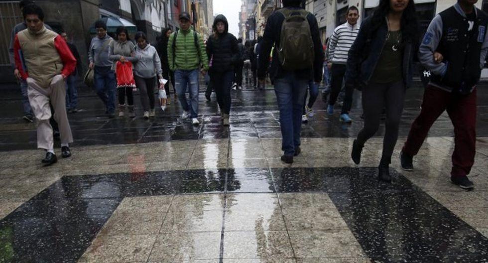 Las bajas temperaturas en Lima se mantienen durante el invierno. (Foto: GEC)