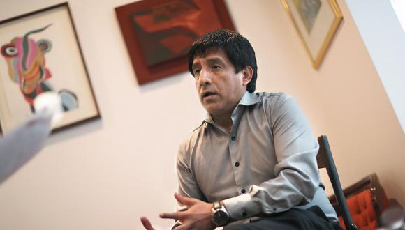 Richard Concepción Carhuancho. Juez del Primer Juzgado de Investigación Preparatoria. (Perú21)